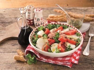 Salade Caprese au thon - Galbani
