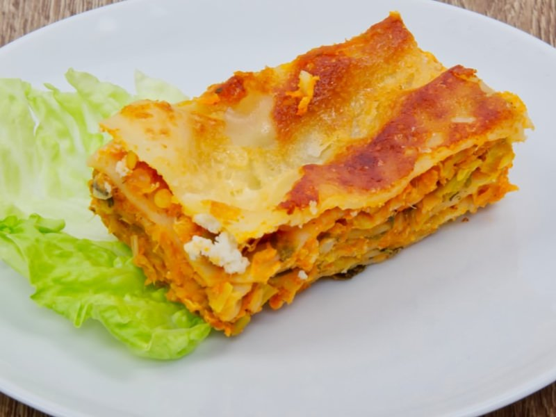Lasagnes au Potiron - Galbani