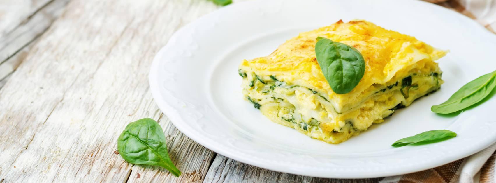 Recette - Lasagnes aux Épinards et à la Ricotta - Lasagnes | Galbani