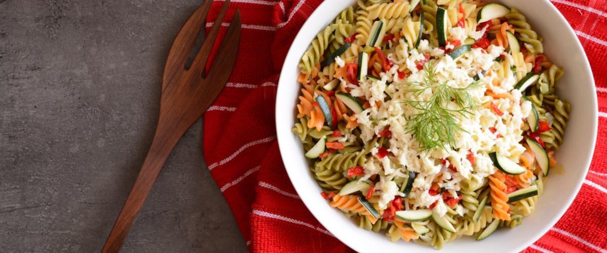 Torsades courgettes, speck et mozzarella - Galbani
