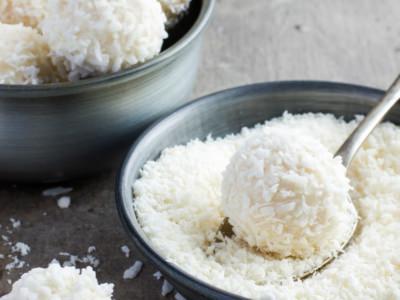 Biscuits estivaux à la noix de coco - Galbani