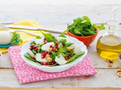 Salade Mozzarella et Grenade - Galbani