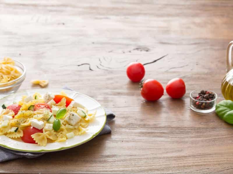 Salade Mozzarella, tomates cerises et concombres - Galbani