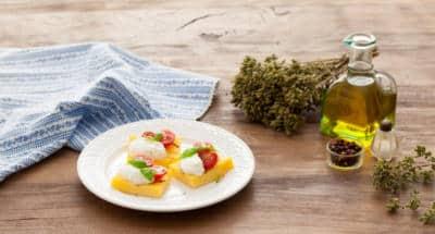 Polenta grillée à la Ricotta - Galbani