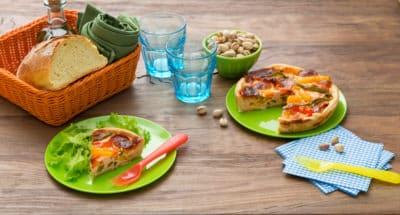 Quiche aux poivrons et à la Mozzarella - Galbani