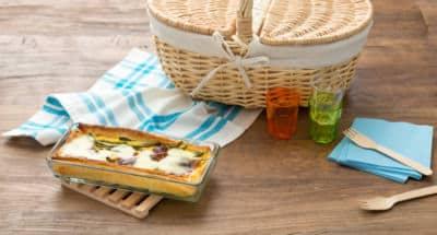 Quiche aux haricots verts et à la Mozzarella - Galbani