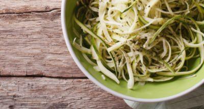 Spaghettis aux Courgettes et à la Ricotta - Galbani