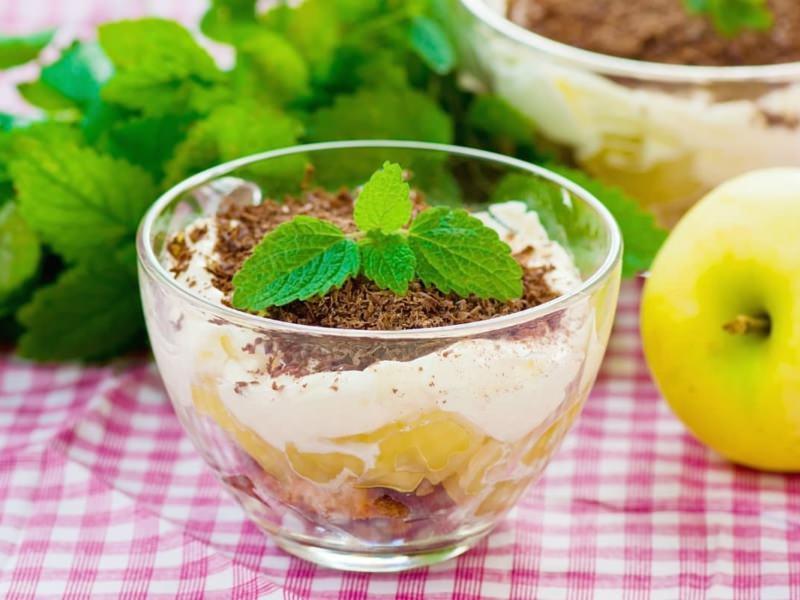 Tiramisu à la pâte de spéculoos et aux pommes - Galbani