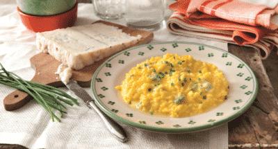 Risotto Milanais au safran et au gorgonzola - Galbani