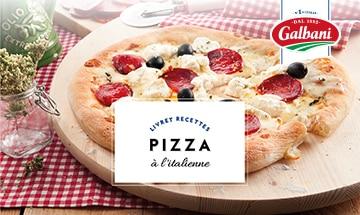 Pizzas - Livret Recette Galbani