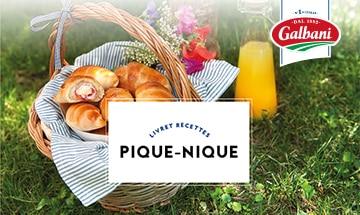Pique-Nique - Livret Recette Galbani