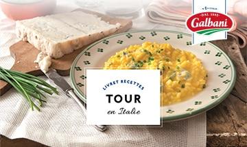 Tour of Italy - Livret Recette Galbani