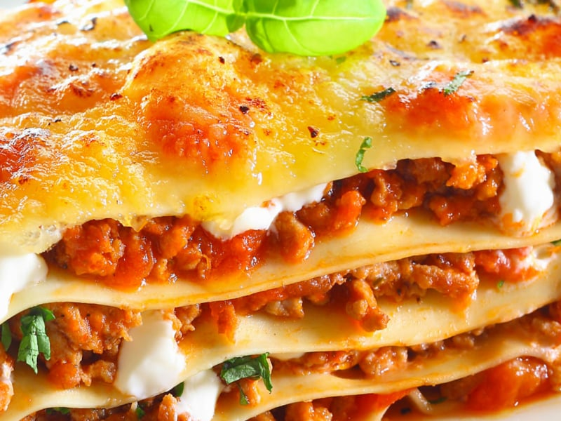Lasagnes au Chou et à la Saucisse - Galbani