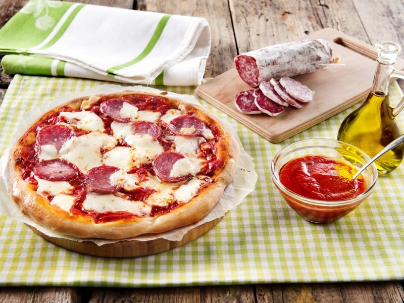 Pizza au salami - Galbani