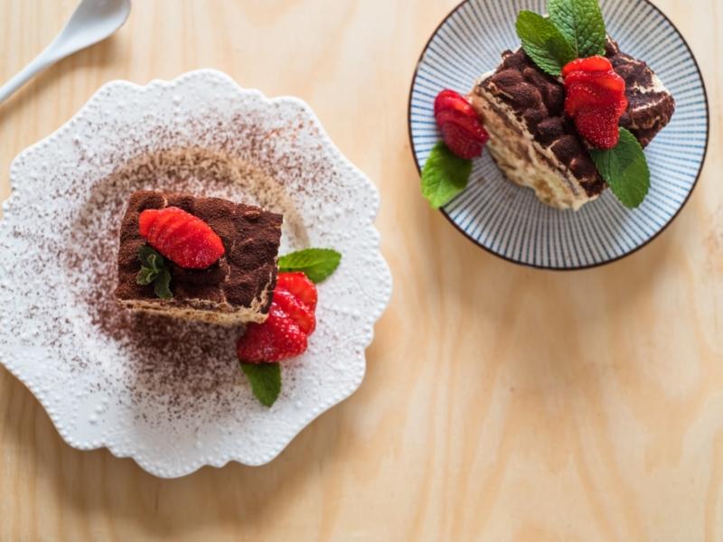 Tiramisu Fraises et Cacao - Galbani