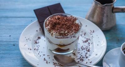 Tiramisu chocolat et au sirop de cardamome - Galbani