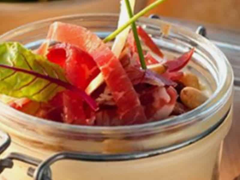 Tiramisù salé aux aubergines frites - Galbani