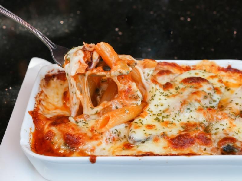 Gratin de Pâtes Mozzarella-Parmesan - Galbani