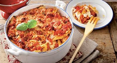 Pâtes à l'Italienne - Livret Recette Galbani