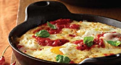 Œufs au Four à la Ricotta et Sauce Tomate - Galbani