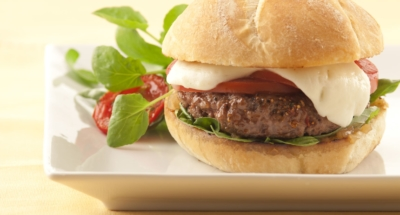 Burger Tomates Mozzarella - Galbani