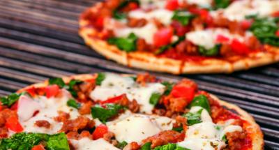 Pizza Italienne à la Mozzarella Cuite au Grill - Galbani