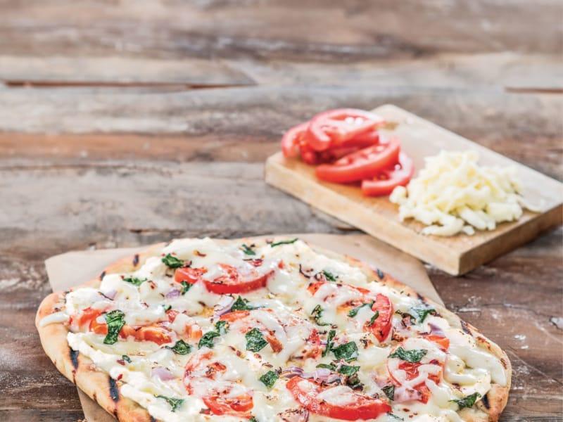 Pizza Blanche Grillée - Galbani