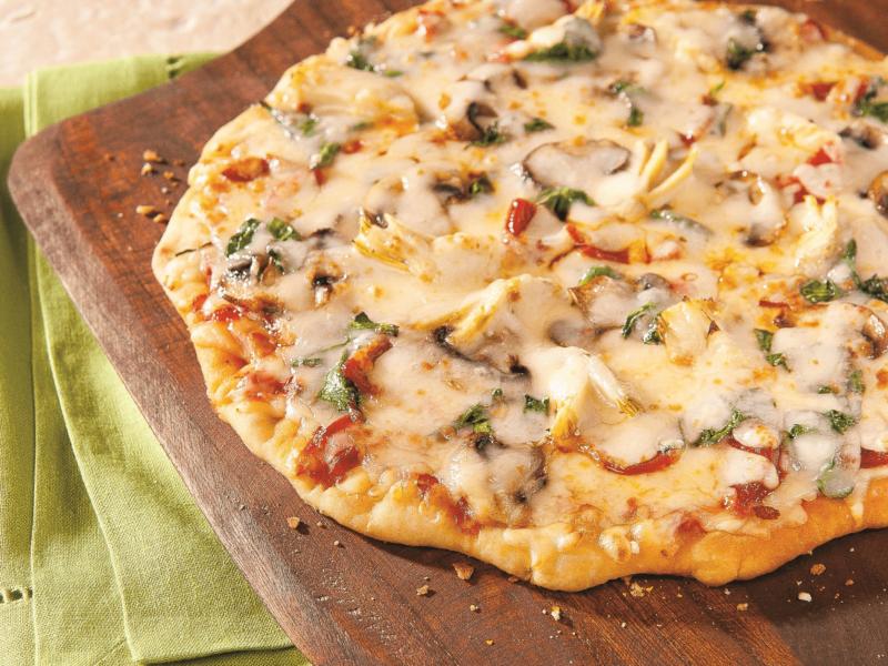 Pizza Épicée aux Épinards - Galbani