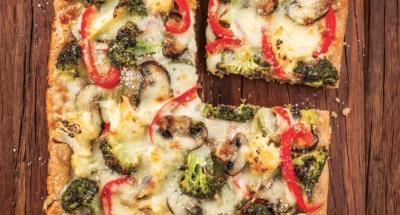Pizza au Blé Entier et aux Légumes - Galbani