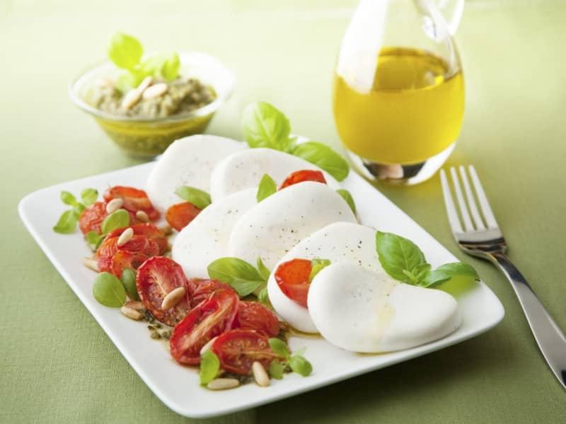 Salade de Mozzarella et Tomates Séchées - Galbani