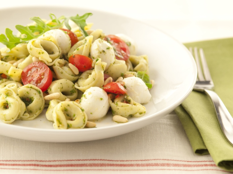 Salade de Tortellinis au Pesto et à la Mozzarella - Galbani