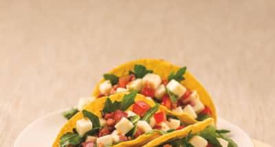 Tacos alla Mozzarella et Pancetta - Galbani
