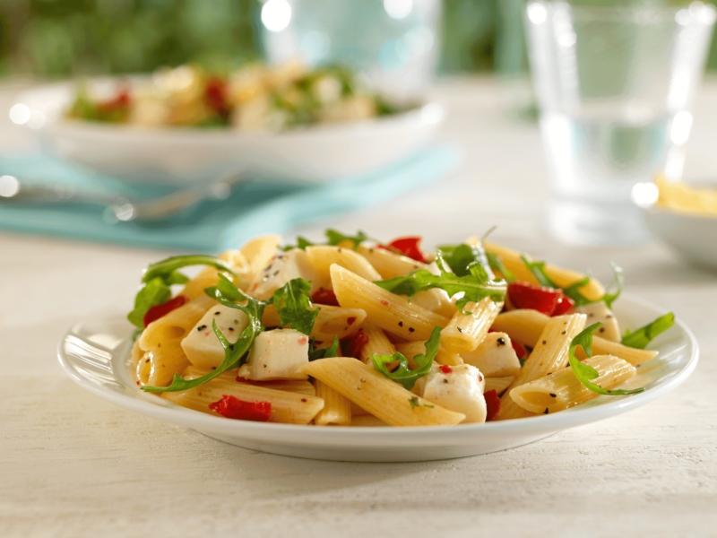 Salade de Penne à la Mozzarella et Roquette - Galbani