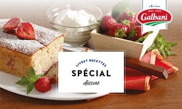 Spécial dessert - Livret Recette Galbani