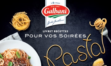 Soirées pasta - Livret Recette Galbani