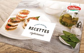 OFFERT : votre livret de recettes végétariennes ! - Galbani