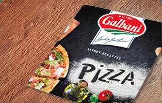 OFFERT : votre carnet de recettes « Soirées Pizza » ! - Galbani